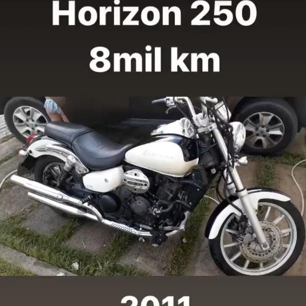 Moto horizon 250 - 2011 - 8mil km rodados