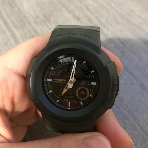Relógio casio g-shock 200m original cor verde