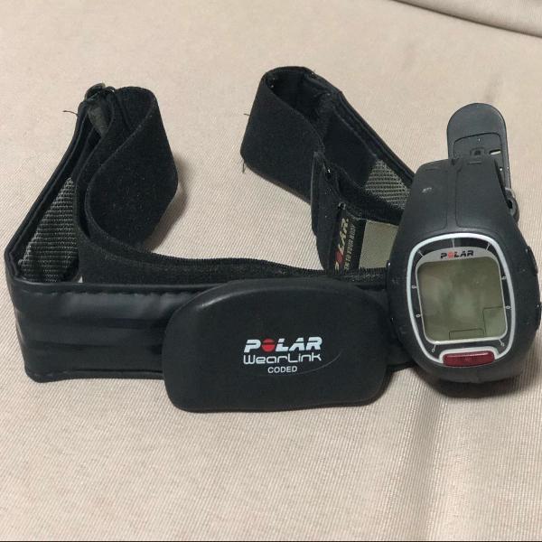 Relógio e cinta monitor polar