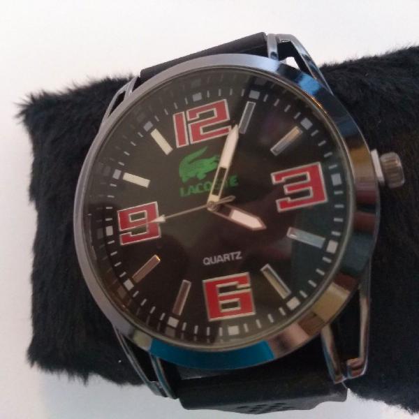 Relógio masculino lacoste - super promoção