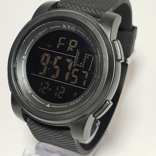 Relógio unissex digital - resistente a água - rxg