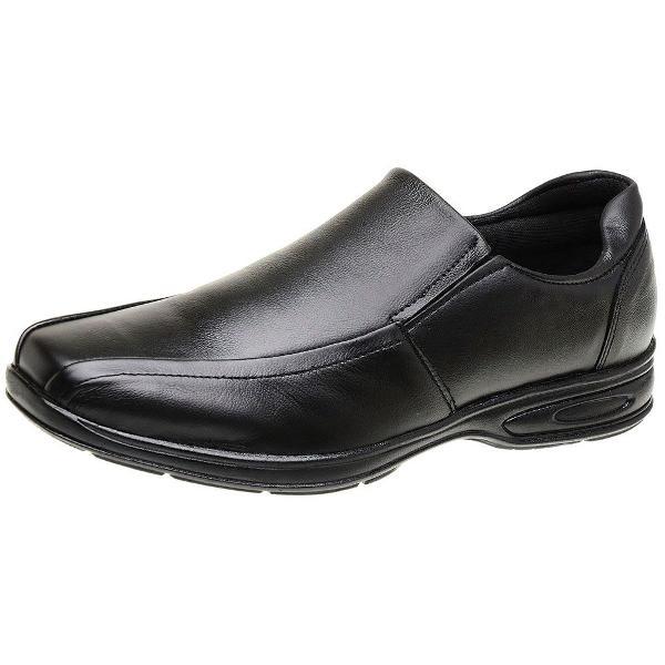 Sapato 42 social preto couro 5030