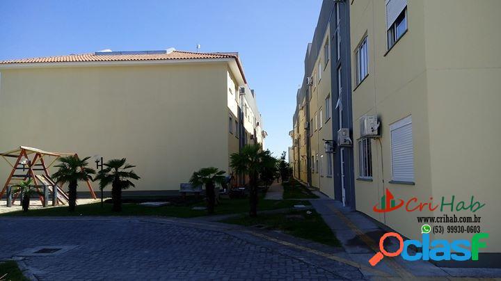Cohab fragata - apartamento novo 2 dormitórios em pelotas