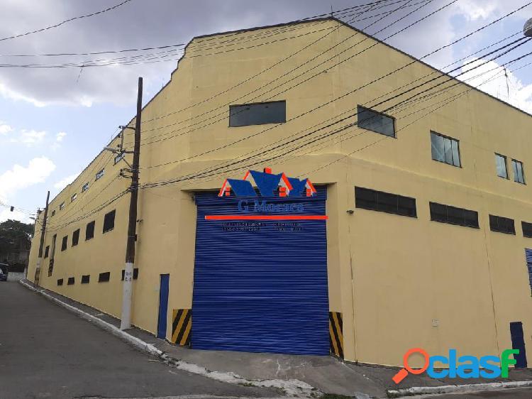 Centro de distribuição e logística 2.426 mts2 estrutura moderna (vila ré)