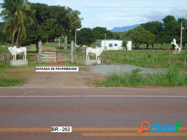 Fazenda - venda - corumbã¡ - ms - rural