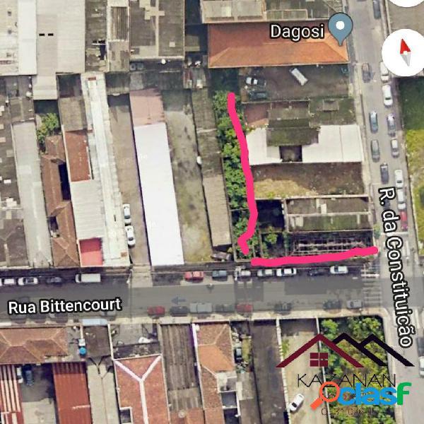 Terreno Centro Santos 1