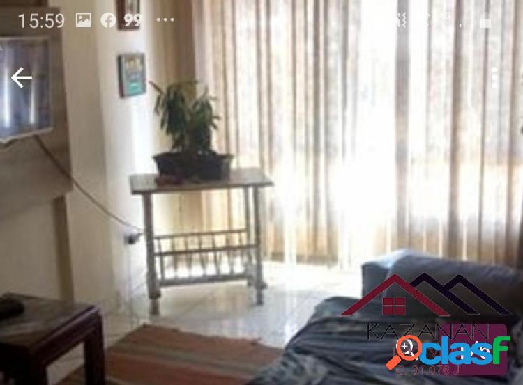 1 dormitório - semi- mobiliado- itararé - são vicente