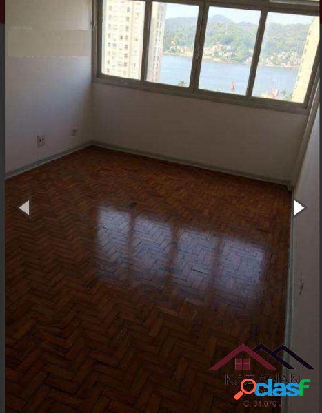 2 dormitórios - vista mar - 2 vagas de garagem - boa vista - são vicente