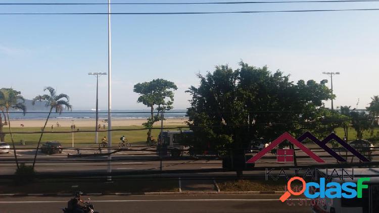 Kitnet frente praia são vicente