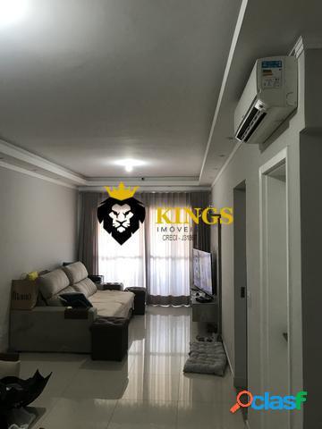 Dois dormitórios c/ duas suítes + sacada + garagem+ lazer - boqueirão