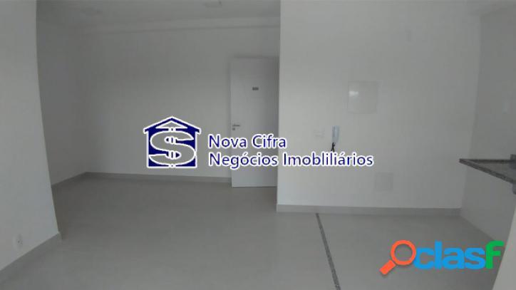 Apartamento novo 2 dormitórios (1 suíte) - jd. paraíso - 61 m²