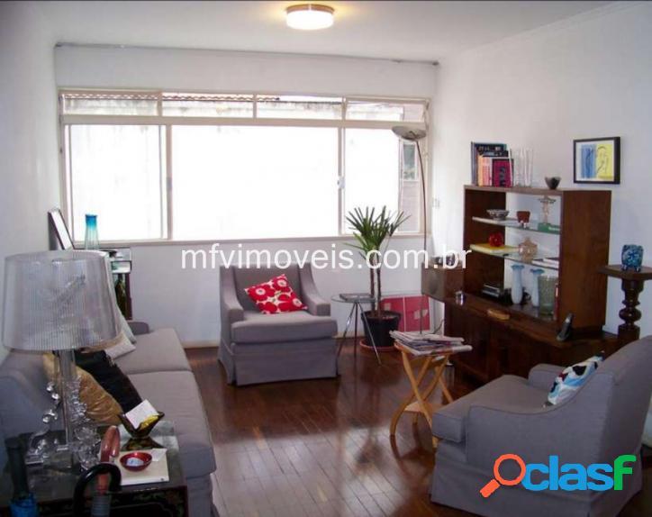 Apartamento de 2 quartos, 100m² e 1 vaga à venda no jardim paulista