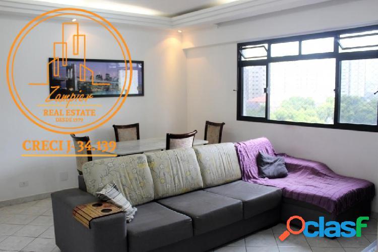 Apartamento 2 dormitórios na vila mathias - santos