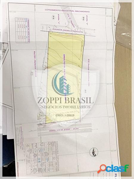 TE185 - Área à Venda em Americana SP, Chácara Machadinho, 24.536,00 m², Zon