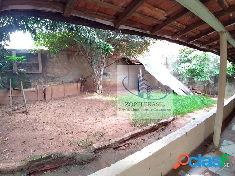CAL0065 - Casa para locação em Americana, Zanaga, com 2 dormitórios, 1 banh