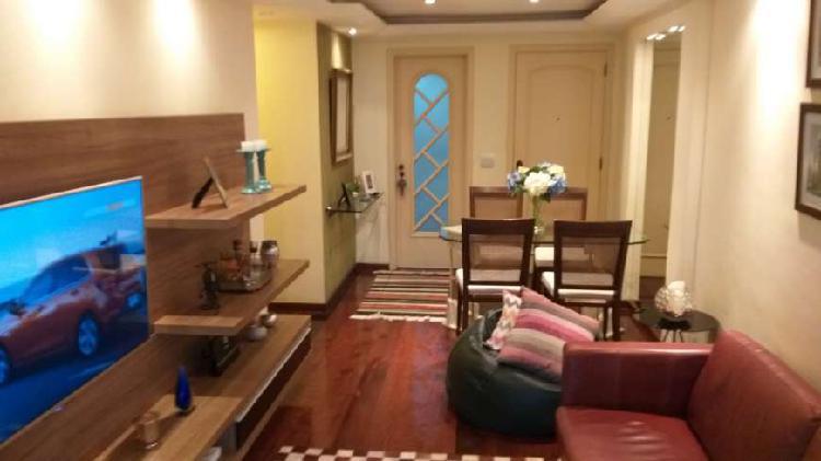 Apartamento de 3 qts mais suite semi mobiliado no recreio,