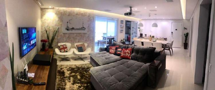 Apartamento para venda possui 122 metros quadrados com 3