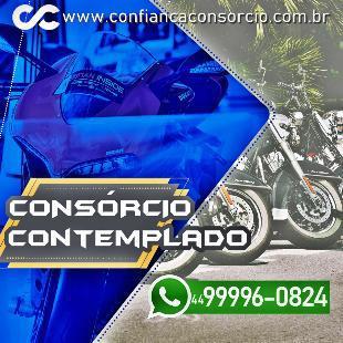 Consórcio contemplado - moto ou carro