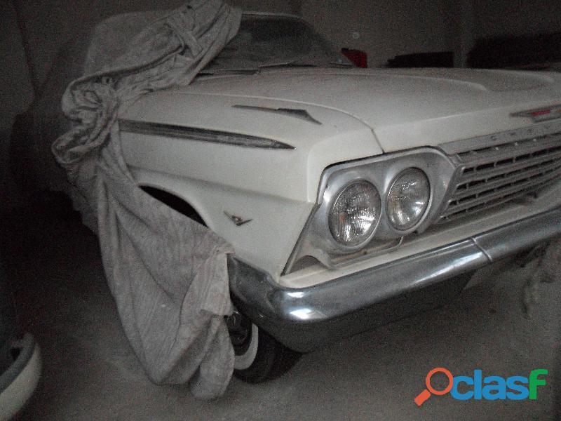 Impala ss 1962 chevrolet gm raridade motor v8 mecanico original
