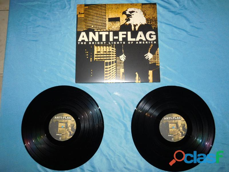 Lp anti flag/the bright light of america/duplo