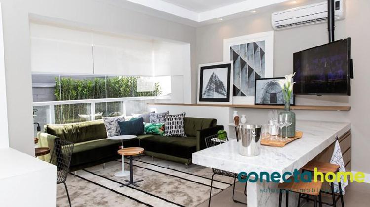 Apartamento 2 dormitórios brooklin - 65 m²