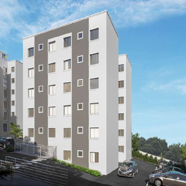 Apartamento para venda barreiro possui 43 metros quadrados