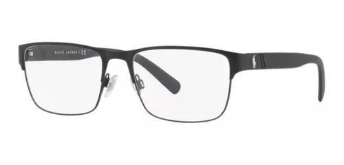 Armacao oculos grau polo ralph lauren ph1175 9038 56 preto f