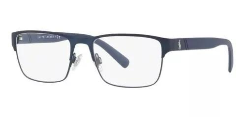 Armacao oculos grau polo ralph lauren ph1175 9119 56 azul fo