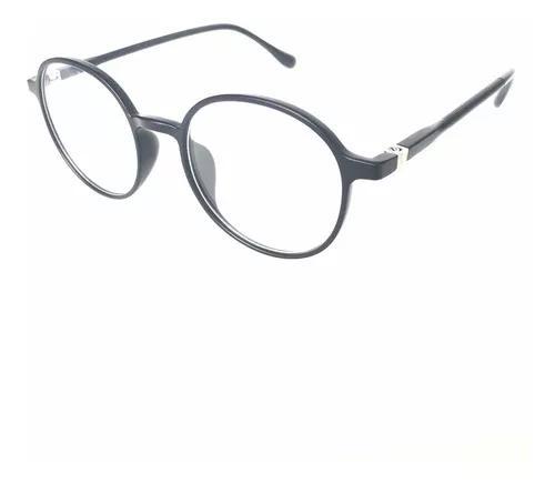 Armações para óculos de grau masculino redondo leve