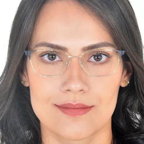 Armação de óculos de grau metal f