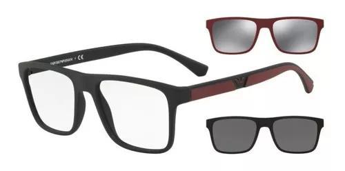 Armação oculos grau 2 clip on