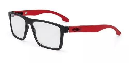 Armação oculos grau mormaii banks m6046a8555 preto fosco