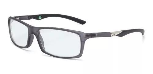 Armação oculos grau mormaii camburi full 1234d8155 - cinza