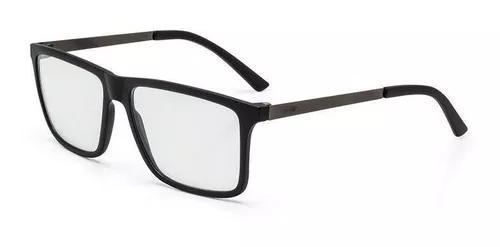 Armação oculos grau mormaii khapa m6045a1656 preto fosco