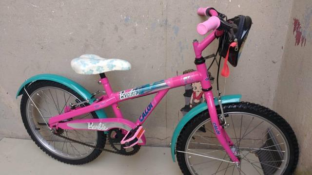 Bicicleta aro 20 caloi barbie praticamente nova