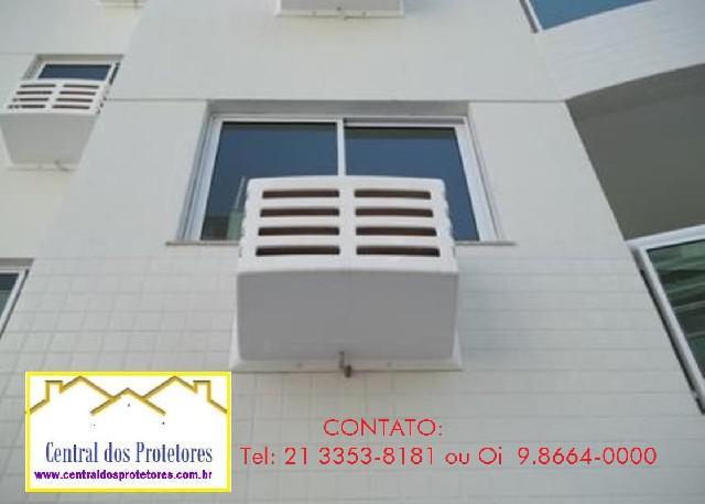 Caixa protetor gabinetes para ar condicionado