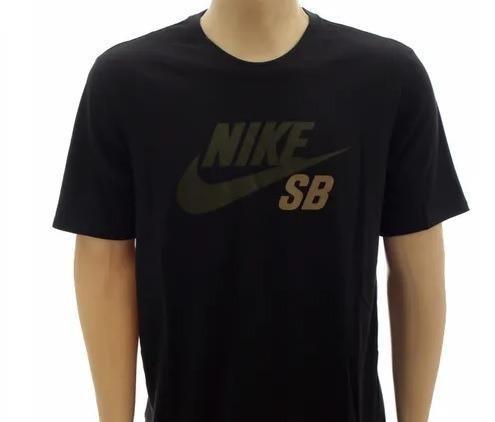 Camiseta Nike Tee Modelo Nike Sb Camo Dri-fit Tamanho P Cor