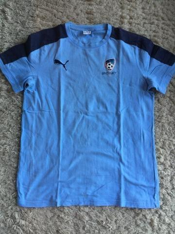 Camiseta torcedor sydney fc original puma algodão tamanho m