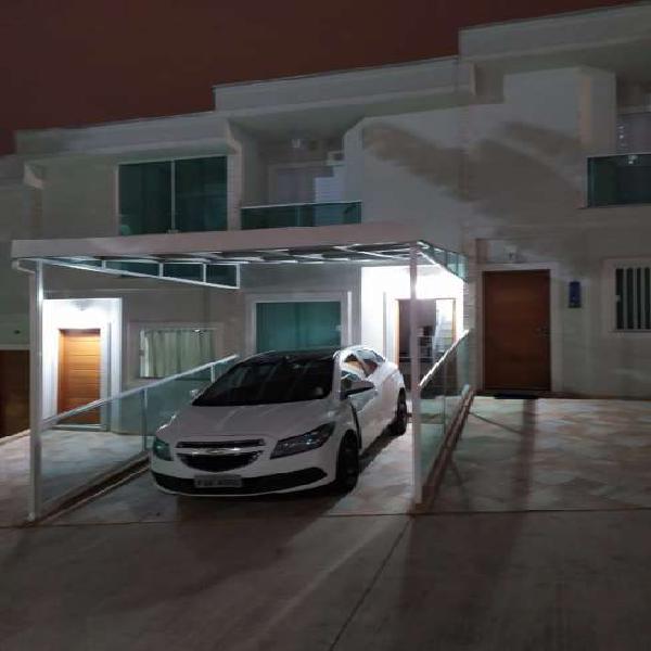 Casa de condomínio para venda com 62 metros quadrados com 2