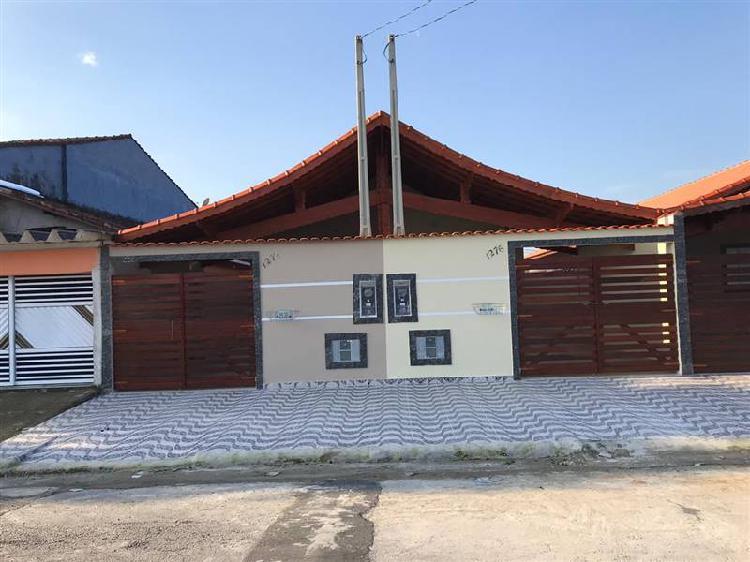 Casa nova, com 76,20 m² de área construída. localizada na