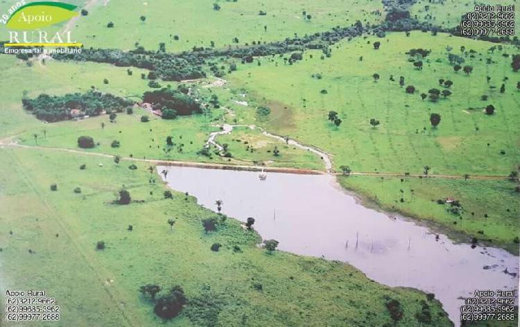 Fazenda no vale do araguaia de 202 alqueires de cultura