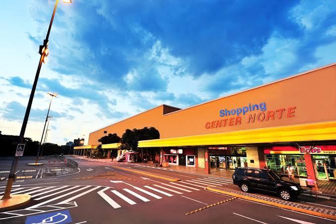 Loja shopping centernorte corredor principal