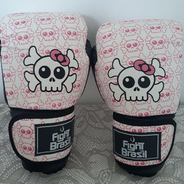 Luva de boxe/muay thai/kickboxing