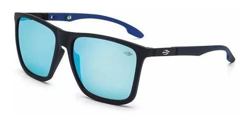 Oculos sol mormaii hawaii m0034adc12 preto fosco lente azul
