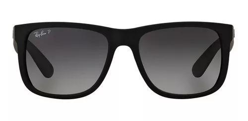Ray ban justin polarizado rb4165 622/t3 óculos de sol 5,7