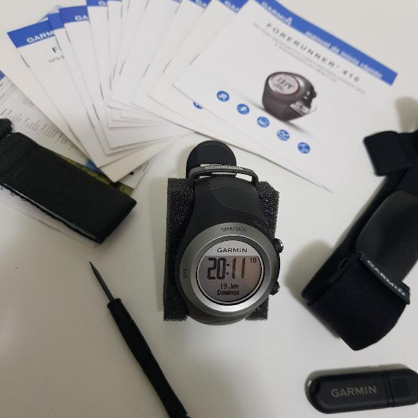 Relógio forenrruner garmin 410
