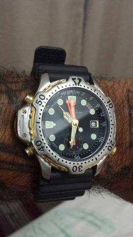 Relógio citizen aqualand aceito troca leia