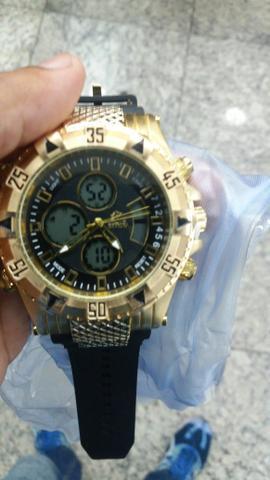 Relógio invicta completo, top, com garantia