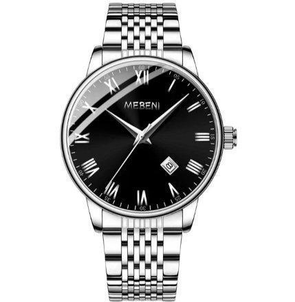 Relógio mebeni relógio de quartzo masculino relógio de