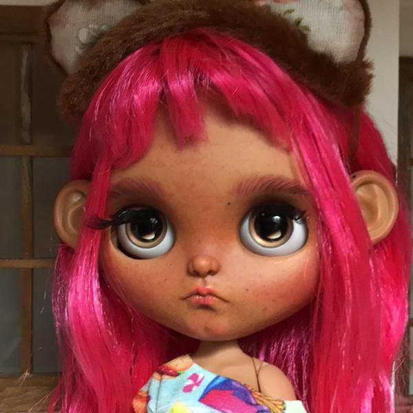 Blythe tbl tan customizada por malina forest